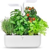 Véritable® GARDEN CLASSIC - LED Keuken binnenmoestuin, inclusief 4 Lingots® kruiden navulling - WHITE