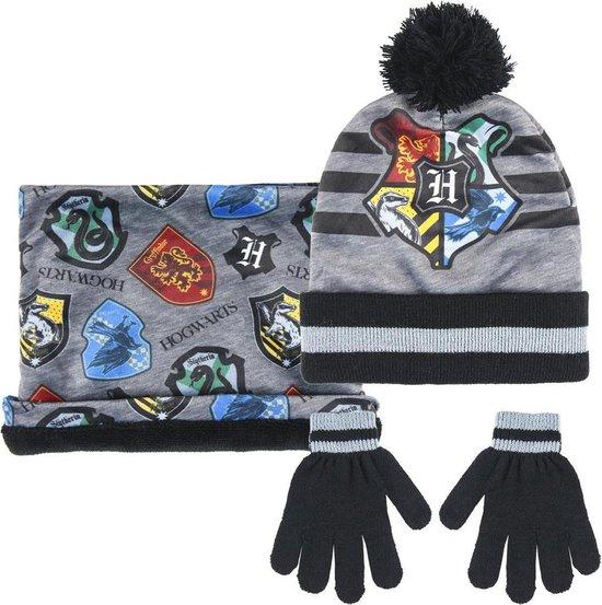 Harry Potter Set: winter Muts, snood sjaal en handschoenen