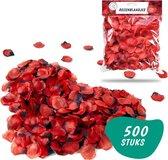 Rozenblaadjes rood – Romantische Versiering – Rozenblaadjes voor in Bad – 500 stuks