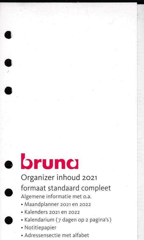 Afbeelding van Organizer inhoud 2021 Formaat standaard compleet