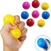 Sticky Balls - Sticky Wall Balls - Globbles - TikTok - Stress Verminderend - Klevende Plafond Bal - Set 4 Stuks