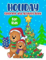 Holiday Coloring And Activity Book For Kids