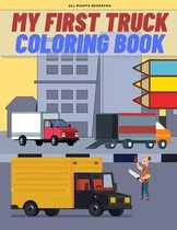 My First Truck Coloring Book