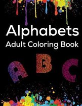 Alphabets Adult Coloring Book