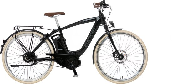 Piaggio E-Bike Mas Mech Comfort+ Nero Lucido | maat M (50)