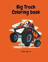 Big Truck Coloring book for boys