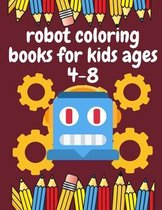 robot coloring books for kids ages 4-8
