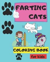 Farting Cats coloring book for kids: