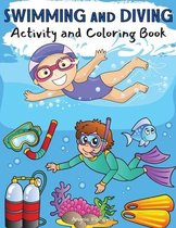 Swimming and Diving Activity and Coloring Book