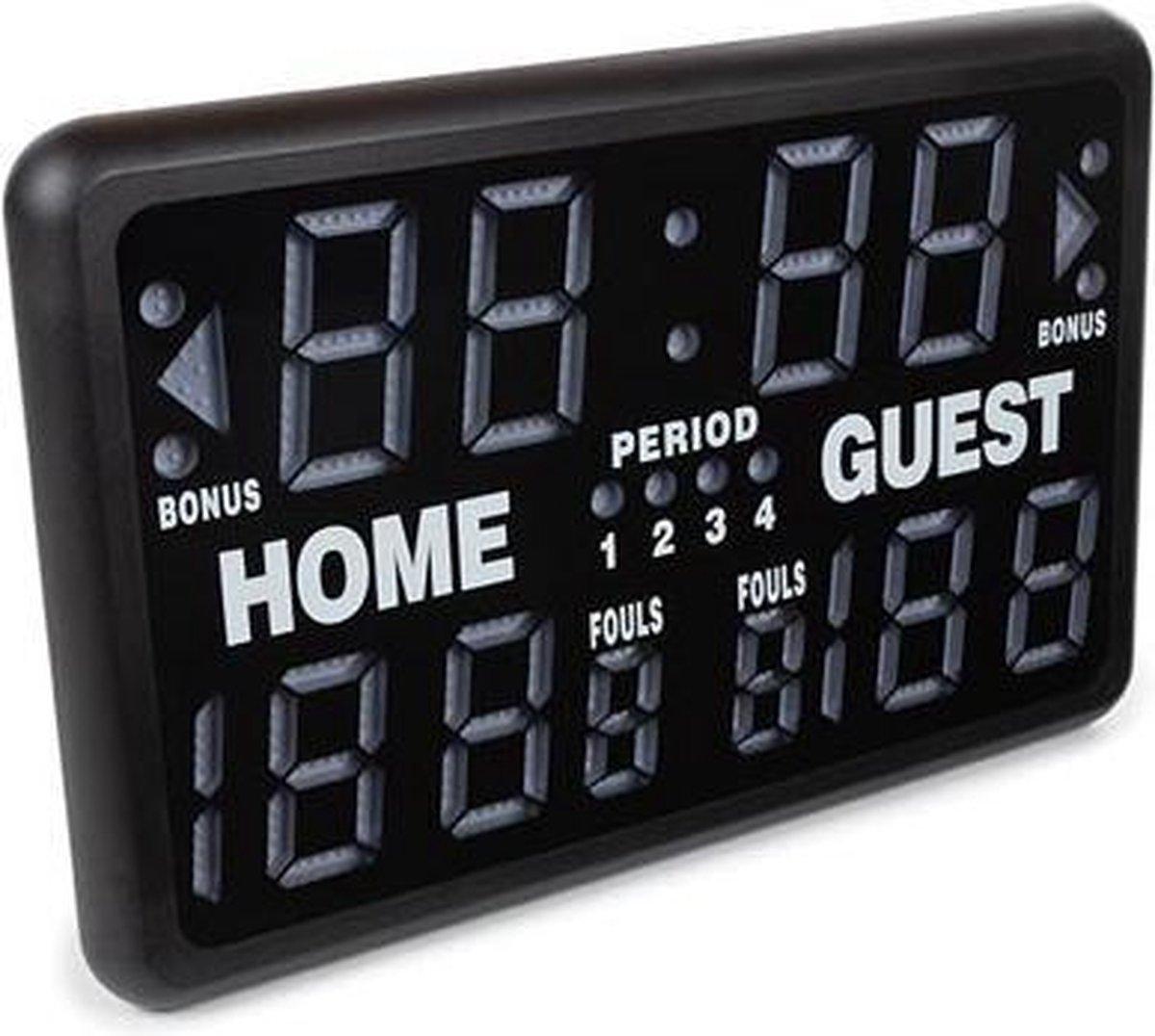 Perel professioneel scorebord / sporttimer voor diverse sporten