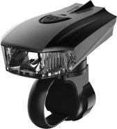 Fietslamp – usb oplaadbare led fietslamp - voorlamp – voorlicht fiets – oplaadbare fietslamp – usb – usb oplaadbaar – led voorlamp – waterdicht – 4 lichtstanden – lichtsensor – fietslamp met lichtsensor