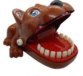 Hond met kiespijn - Bijtende hond spel - Honden Tandenspel - Kinderspel - Drankspel - Reisspel - Krokodil Met Kiespijn
