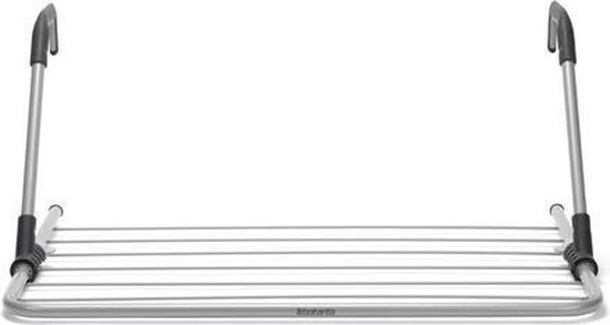 Brabantia Hangend Droogrek - 4.5 m - Metallic Grey
