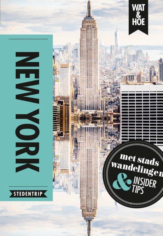 Boek cover Wat & Hoe Hoogtepunten  -   New York van Wat & Hoe Stedentrip (Paperback)