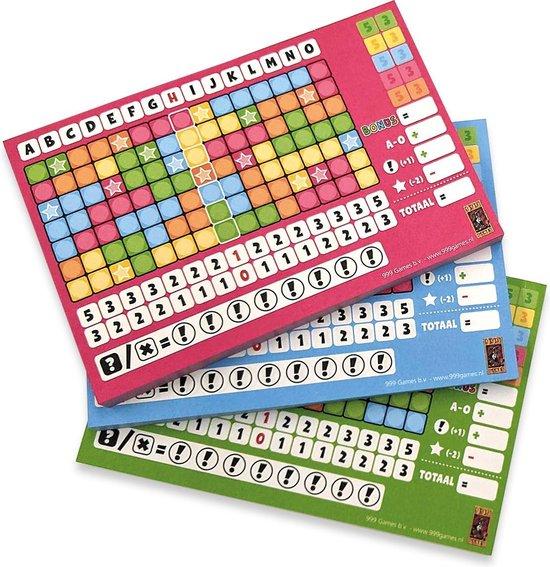 Spel - Dobbelspel - Keer op keer - Daar gaan we weer - Scoreblok - 3st. - 8+