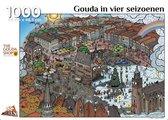 Puzzel Gouda in vier seizoenen - door Thijs Jansen