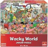 Goliath Wacky World Puzzel Dierenwinkel 1000 Stukjes