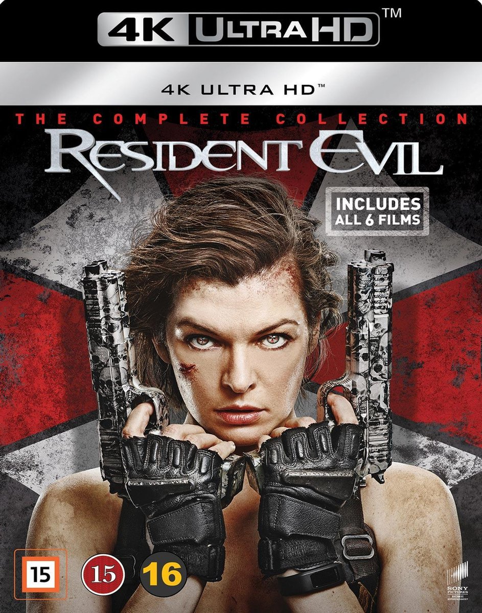 Resident Evil Complete Collection 4K UHD Import-