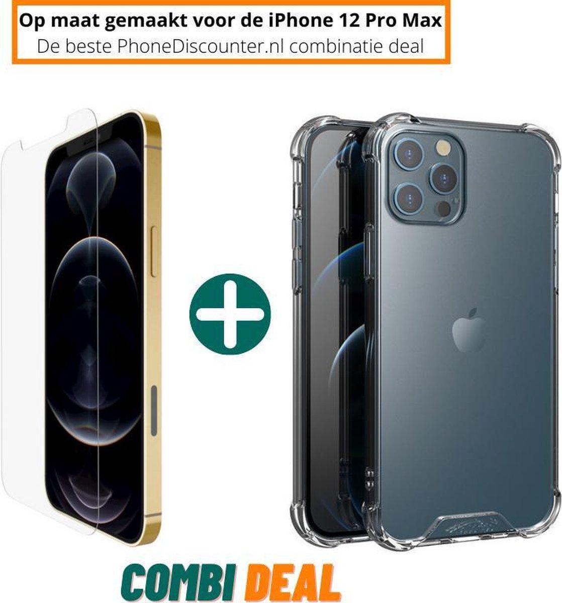 ZT Accessoires iPhone 12 Pro Hoesje Anti-Shock TPU