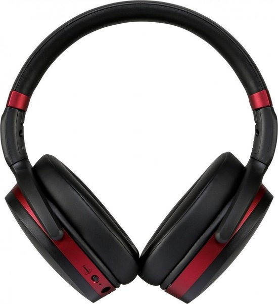 HD 458BT - Draadloze koptelefoon met Noise Cancelling - Zwart/Rood