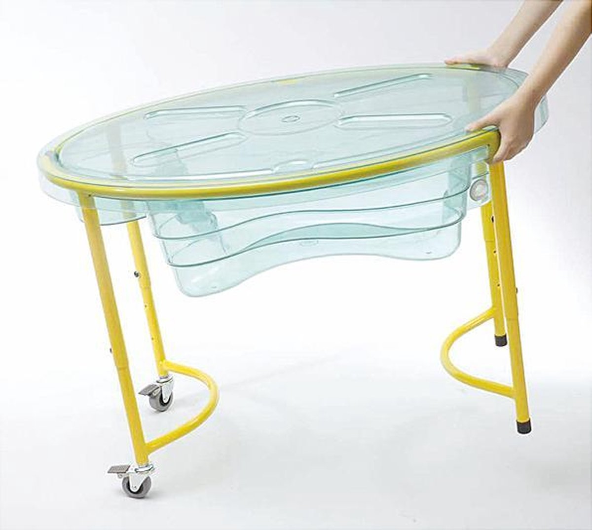Zand-/water tafel transparant