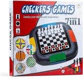 7 in 1 bordspellen - Schaken - Bordspel - Reisspel - Gezelschapsspel - Dobbelspel - Game - Games - Spellendoos - Strategische bordspellen