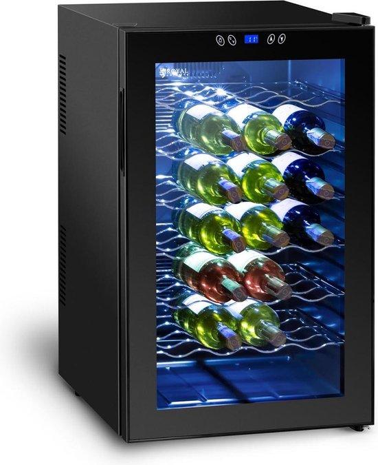 Koelkast: Royal Catering Wijnkoelkast - 80 L, van het merk Royal Catering