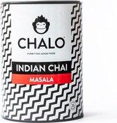 CHALO Prijswinnende Masala Chai Latte - Indische Vegan Chai -  Zwarte Assam thee - 25 porties/ 300GR