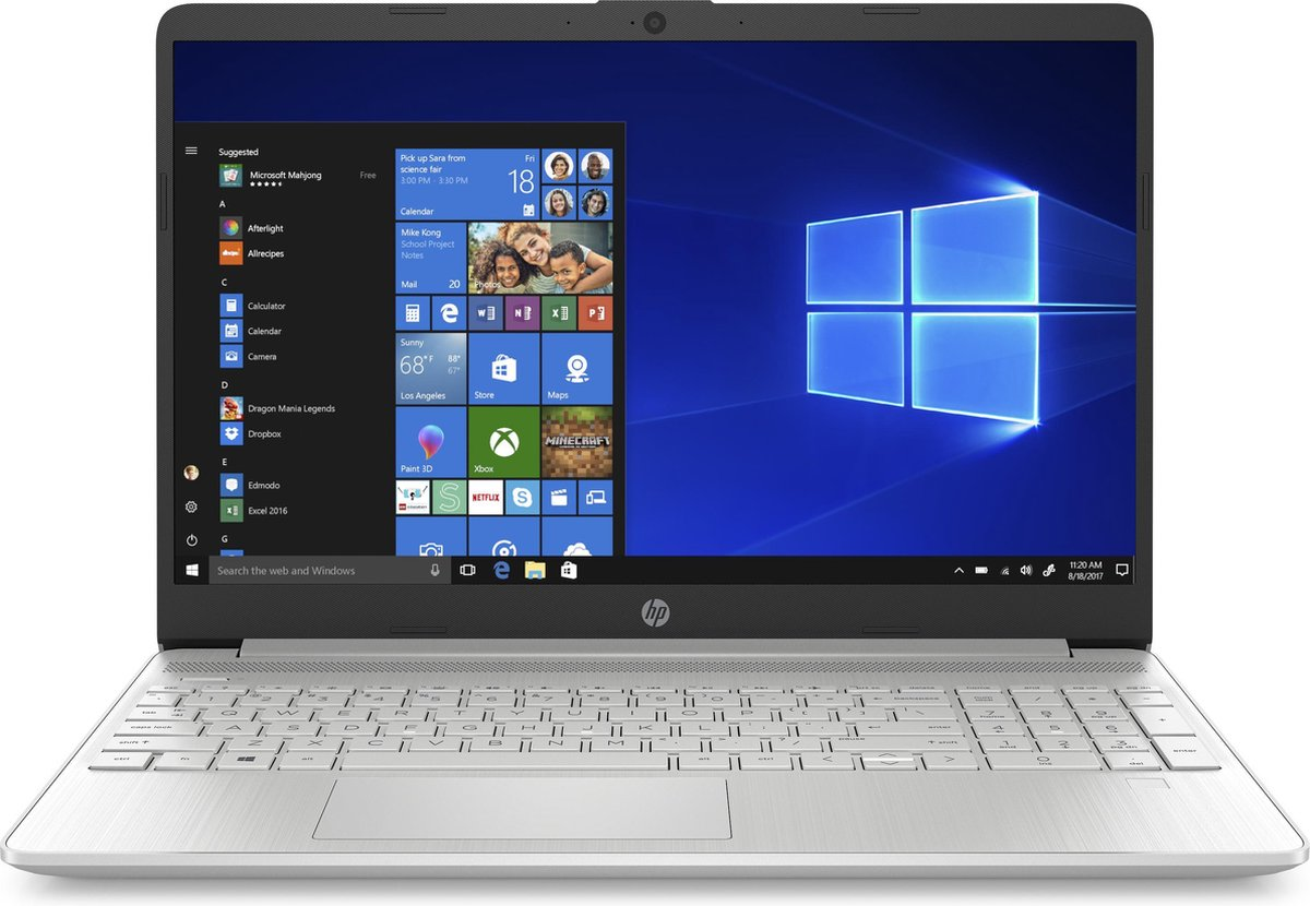 HP 15s-fq2710nd - Laptop - 15.6 inch