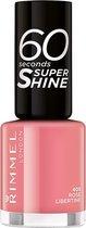 Rimmel London 60 seconds Supershine Nagellak - 405 Rose Libertine - Roze