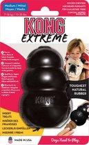 """Kong hond Extreme rubber """"M"""", zwart 8 x 6 x 5.5 cm"""