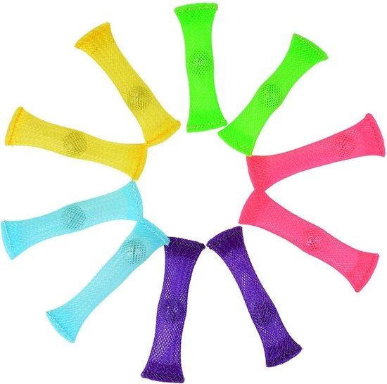 Fidget Toys - Mesh and Marble - Tiktok - 10 Stuks- verschillende kleuren-