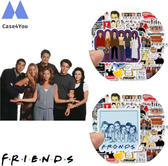 Friends Stickers | 50x stuks | Friends tv serie | Reunion | Merchandise | Vinyl Stickers |Mok | Matt Leblanc | Netflix serie | Laptopstickers | Jeniffer aniston| Friends