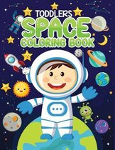 toddlers space coloring book