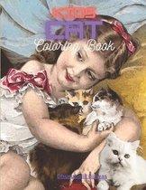 Kids Cat Coloring Book