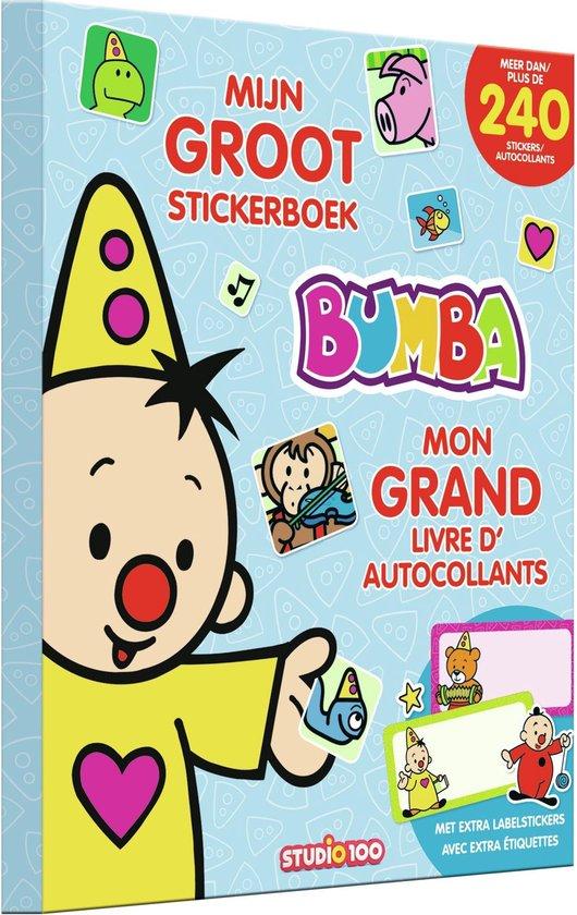 Afbeelding van Stickerboek Bumba - mijn groot - Studio 100 Bumba speelgoed