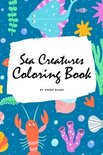 Sea Creatures Coloring Book for Children (6x9 Coloring Book / Activity Book)