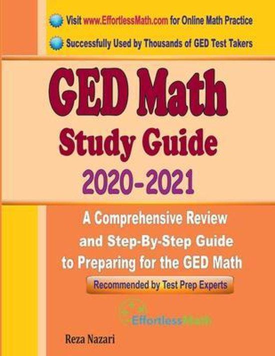 GED Math Study Guide 2020 - 2021