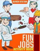 Fun Jobs Activity Book