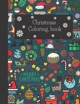 Christmas coloring book: /gift idea/: Christmas Coloring Pages for Kids