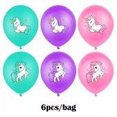 Fabs World ballonnen metallic unicorn