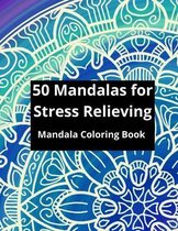 50 Mandalas for Stress Relieving