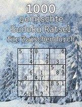 1000 gemischte Sudoku Ratsel fur Zwischendurch