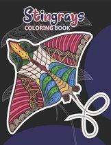 Stingrays Coloring Book