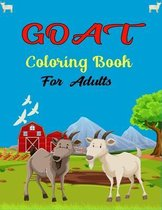 GOAT Coloring Book For Adults