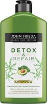 4x John Frieda Detox & Repair Shampoo 250 ml