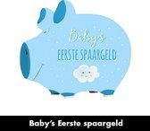 Spaarpot jongen 'Baby's eerste spaargeld'