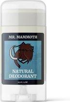 MR. Mammoth Aluminiumvrije Deodorant - Geen Parabenen, Glutenvrij, Diervriendelijke Veganistische Deodorant - Bevat Probiotica - Natuurlijke Deodorant Stick voor Mannen