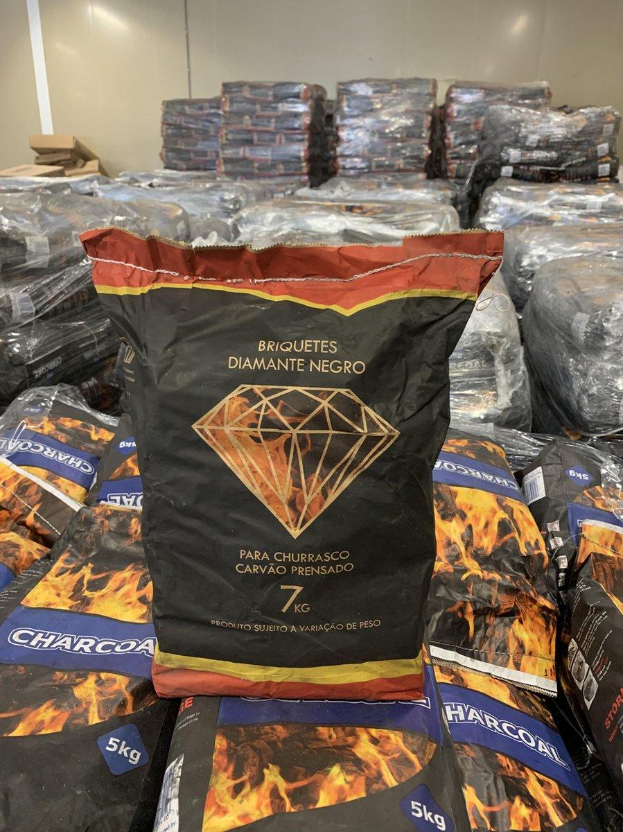 Houtskool - Briketten - Tubes 7kg - Speciaal geperst - Diamant - Eucalyptus