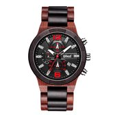WOED | Premium | Houten horloge |Heren | 48 mm | GROVER